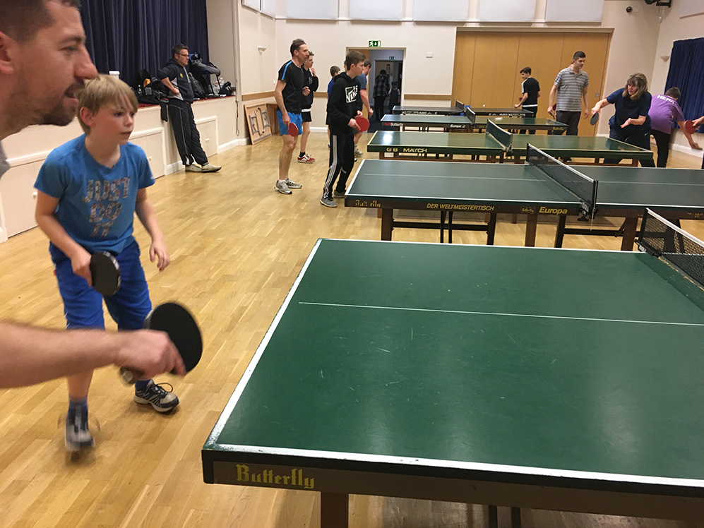 Cookley Table Tennis